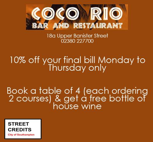 Coco Rio Offer