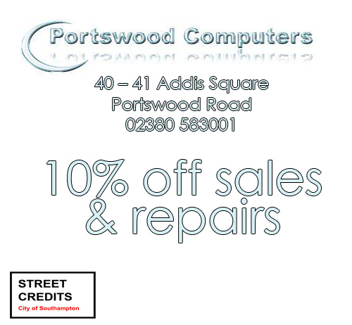 Portswood Computers Offer