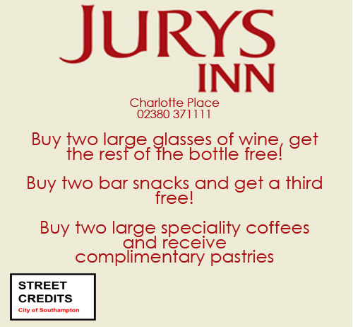 Jurys Inn Offer
