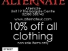 Alternative Clothing Offer