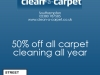 Clean a Carpet Offer