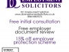 DC Employment Solicitors Offer