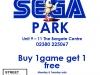Sega Park Offer